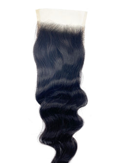 Closures are one of the best solutions for those transitioning from relaxed to natural hair, or simply to conceal their hair during their install. They are also great for those looking for a protective style. Protective hairstyles allow one to avoid putting excessive heat and products on their hair.  Our Malaysian HD 5x5 Closure can be easily curled or straightened. Some of our closures come with a predefined middle part, but they are able to be parted anywhere with a little bit of plucking and molding.