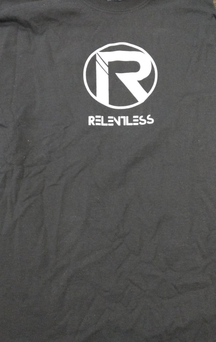 "Relentless ""R"" Black T-shirt"