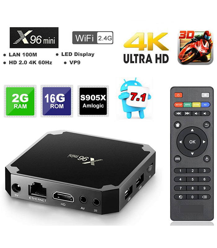 Original TV BOX Android 4K 8GB Version 2019
