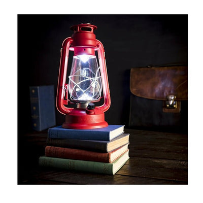 Gentlemen's Hardware Battery Powered Hurricane Lamp