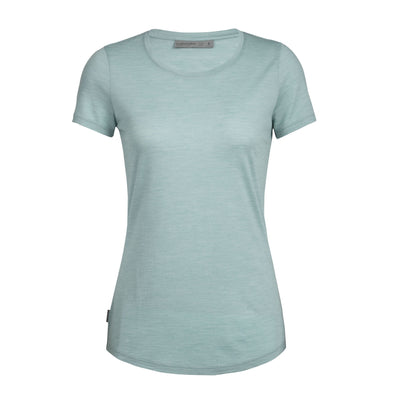 Icebreaker Women's Sphere Short Sleeve Low Crewe