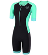 Zone3 Women's Aquaflo Plus Short-Sleeve Trisuit