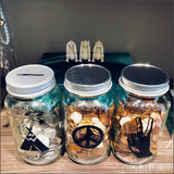 Coin Slot Lid Mason Jar
