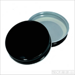 Colourful Mason Jar Lids Blackout Black