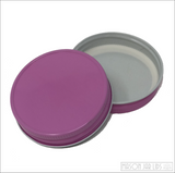 Colourful Mason Jar Lids Dusty Rose
