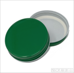 Colourful Mason Jar Lids Emerald Green