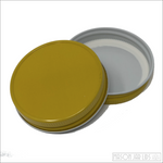 Colourful Mason Jar Lids Sunshine Yellow