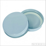 Colourful Mason Jar Lids Winter White