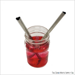 New! - Heart Shaped Stainless Steel Straws Heart