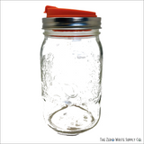 Sippy Fruit Infuser Snap Lid - Wide Mouth Lids