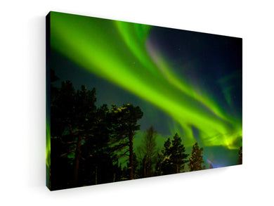 Stretched Canvas Classic – Premium - Northern light