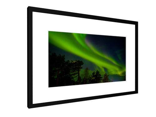 Framed print - Smooth - Northern light