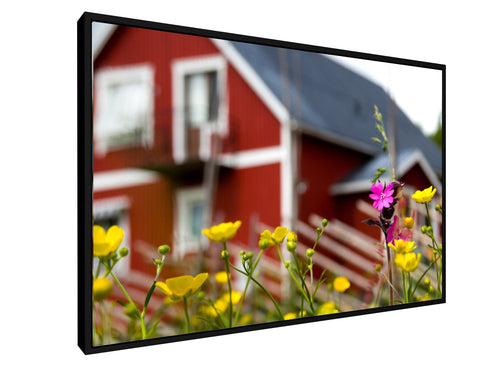 Stretched Canvas Classic - Float Frame - Swedish style