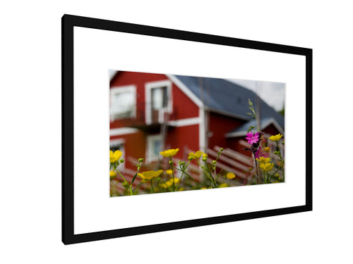 Framed print - Smooth - Swedish style