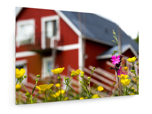 Poly Canvas Print - Swedish style