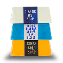 Load image into Gallery viewer, Men's Cosmetics Set Soap Stack The Bluebeards Revenge (3 pcs)