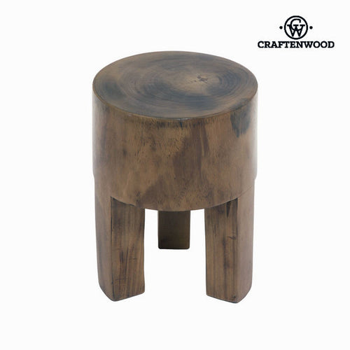 Stool Craftenwood (40 x 30 x 30 cm) Wood - Autumn Collection