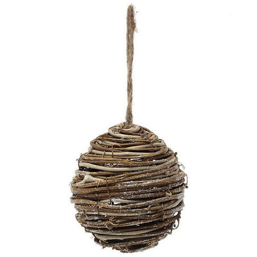 Christmas Bauble Christmas Planet 3949 Wood Brown