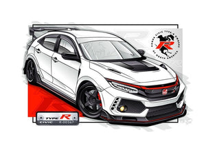 Mystery Box: Type R Owners Personalized & Custom R Owner Print