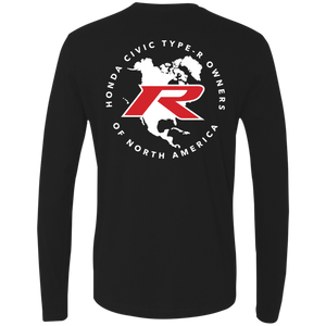 Type R Owners Long Sleeve - Crystal Black Pearl