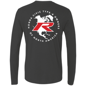 Type R Owners Long Sleeve - Polished Metal Metallic