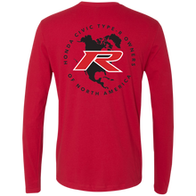 Load image into Gallery viewer, Type R Owners Long Sleeve - Rallye Red