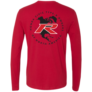 Type R Owners Long Sleeve - Rallye Red