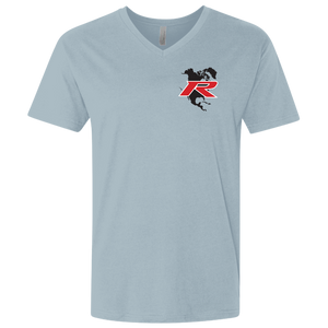 Type R Owners V-Neck T-Shirt - Sonic Grey Pearl