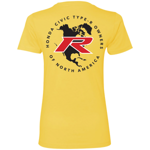 Type R Owners Woman's T-Shirt - Phoenix Yellow