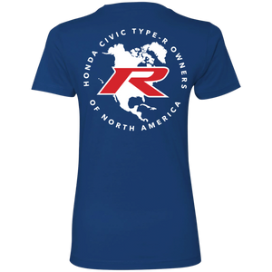 Type R Owners Woman's T-Shirt - Brilliant Sporty Blue