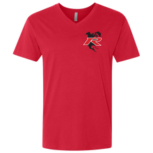 Load image into Gallery viewer, Type R Owners V-Neck T-Shirt - Ralley Red