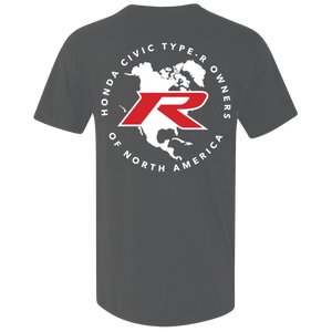 Type R Owners V-Neck T-Shirt - Polished Metal Metallic