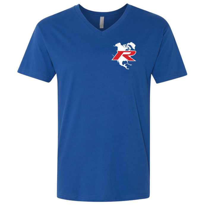 Type R Owners V-Neck T-Shirt - Brilliant Sporty Blue