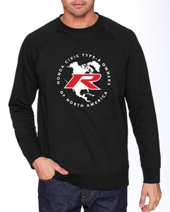 Type R Owners Sweatshirt - Crystal Pearl Black