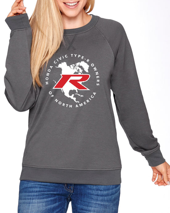 Type R Owners Sweatshirt - Polished Metal Metallic