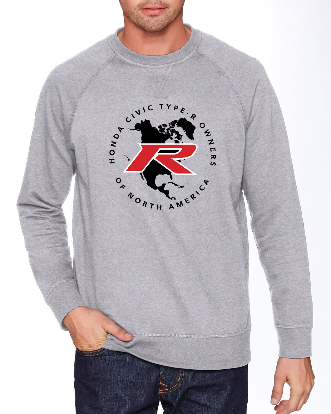 Type R Owners Sweatshirt - Heather Grey