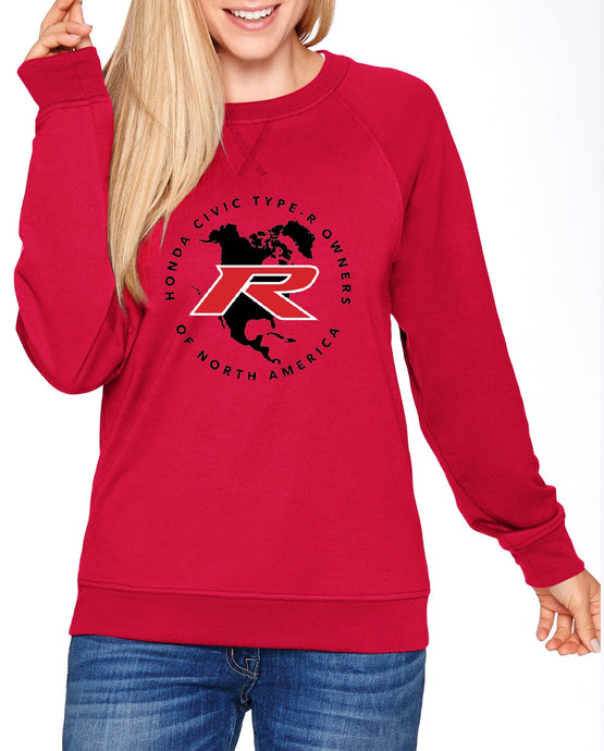 Type R Owners Sweatshirt - Rallye Red