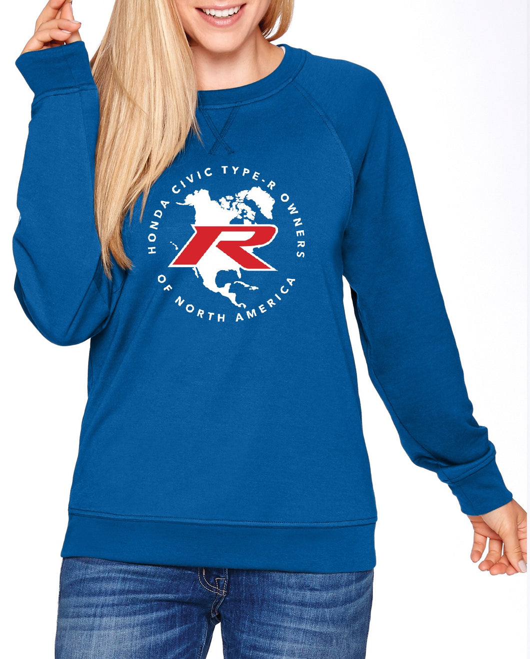 Type R Owners Sweatshirt - Brilliant Sporty Blue
