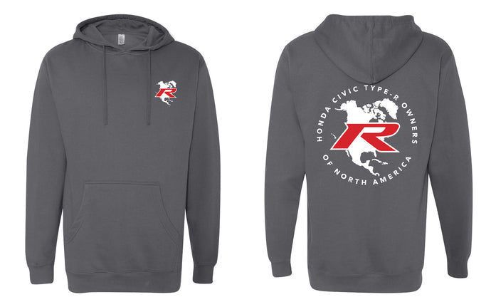 Type R Owners Hoodie - Polished Metal Metallic