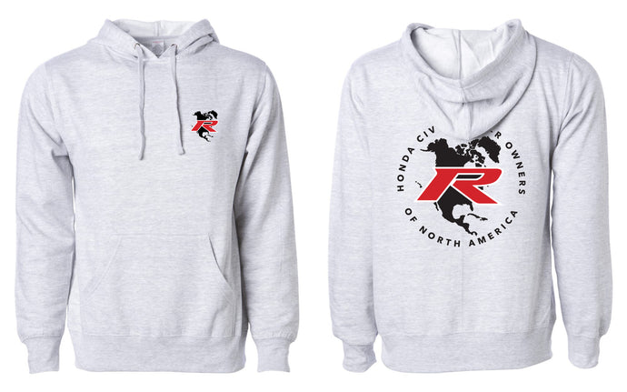 Type R Owners Hoodie - Heather Grey