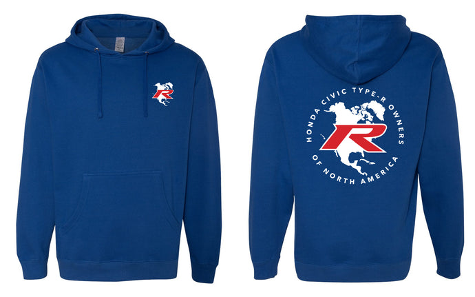Type R Owners Hoodie - Brilliant Sporty Blue (Limited Time Only)