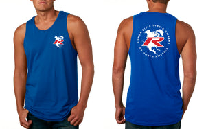 Type R Owners Tank Top - Brilliant Sporty Blue