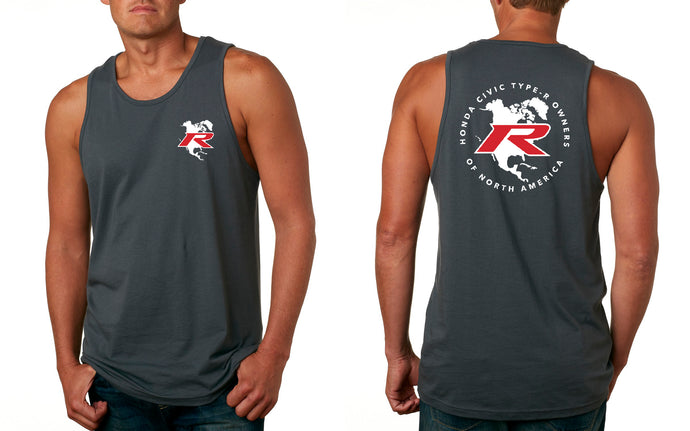 Type R Owners Tank Top - Polished Metal Metallic