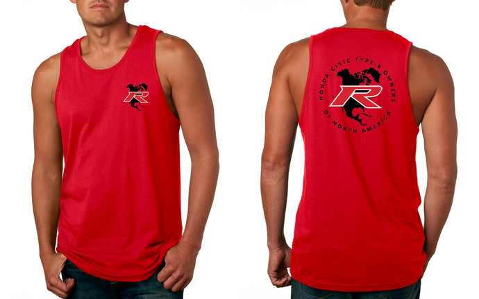 Type R Owners Tank Top - Rallye Red