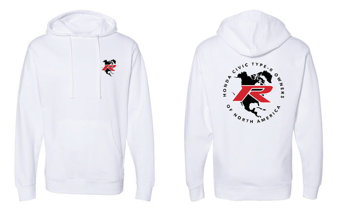 Type R Owners Hoodie - White