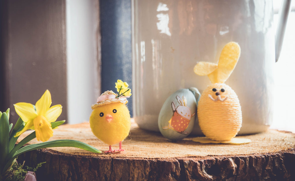 Cute crafts to do with kids on Ostara and Spring Equinox
