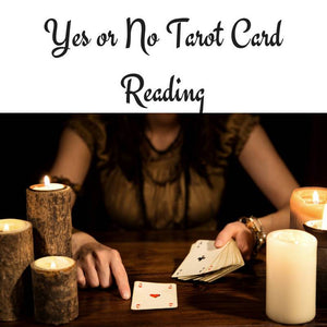 Yes or No Question Expanded Tarot Spread - The Devil & The Dame -