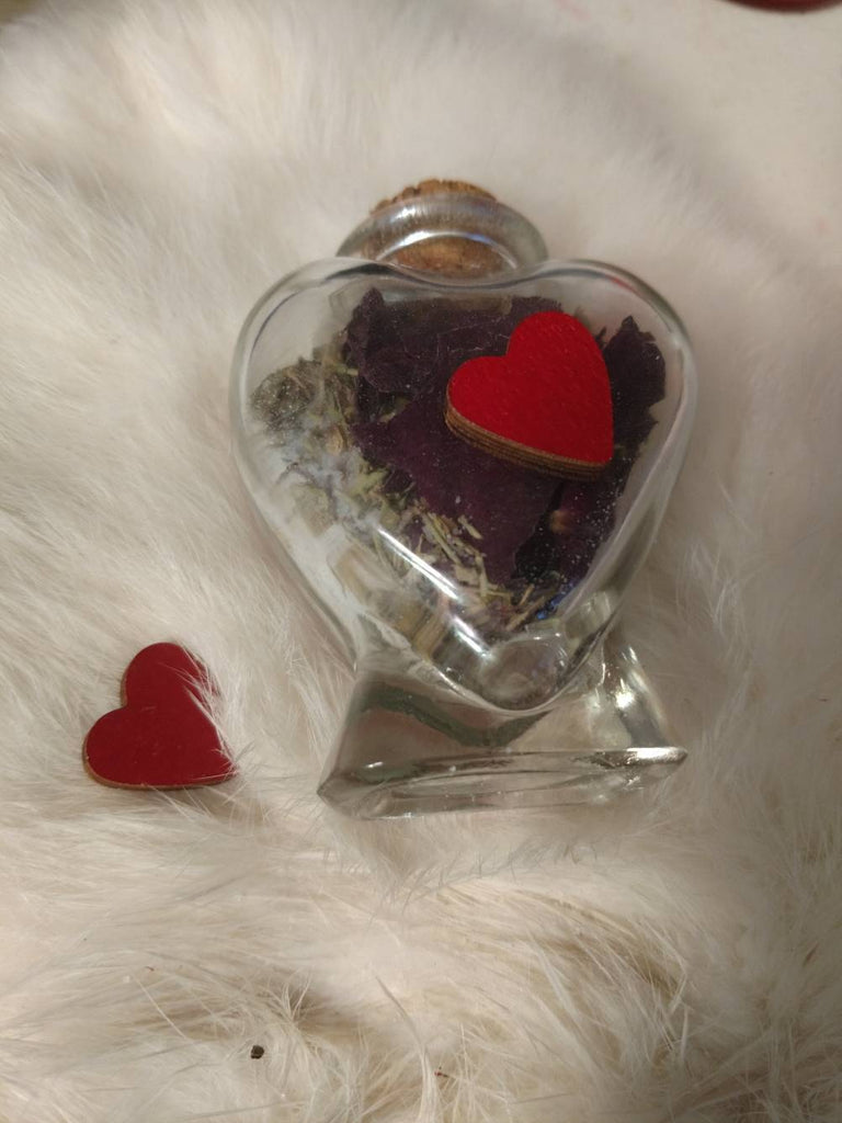 Lasting Love Spell Jar | Alleged Witch Bottle Candle Magic - The Devil & The Dame - Marriage and Sex