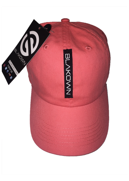 Logo Leather Strip Cap