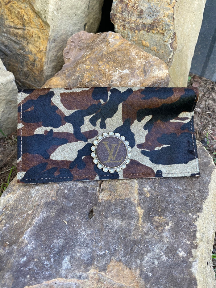 Revamped Camo Checkbook Wallet